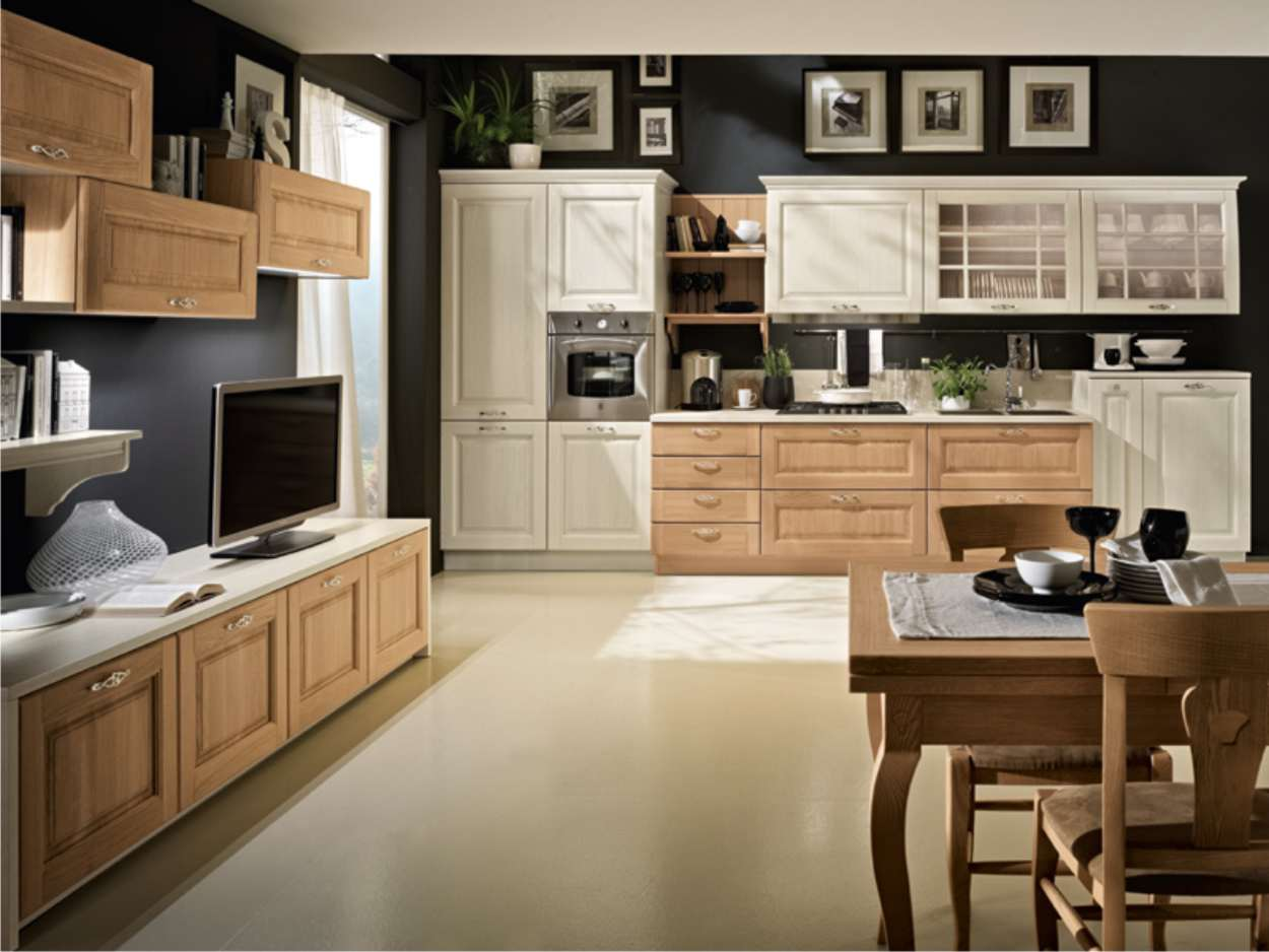 cucina stosa bolghieri bianco legno