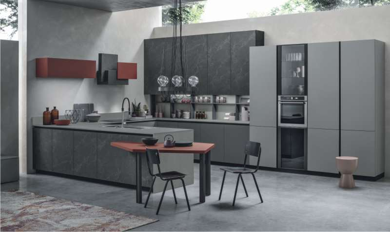 cucina in stile moderno Stosa