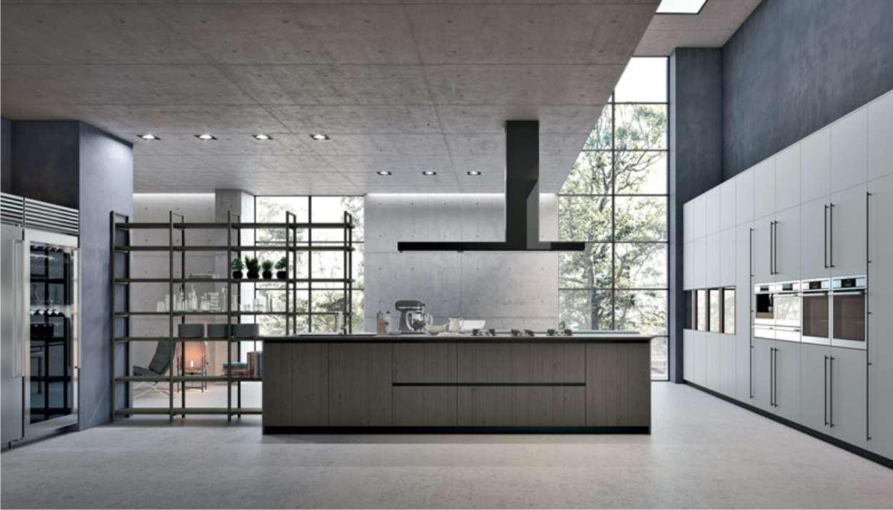 cucina moderna natural stosa