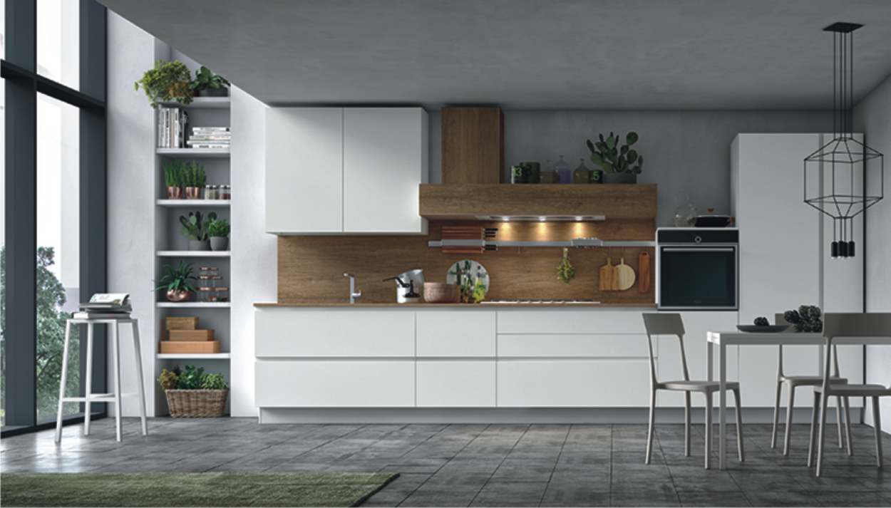 cucina infinity bianca