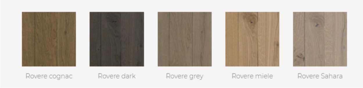 finiture rovere natural