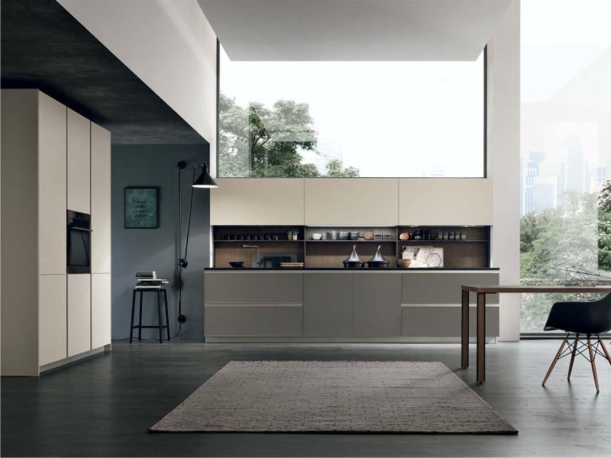 cucina piccola lineare