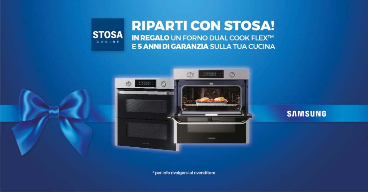 Promozione riparti con Stosa: forno omaggio
